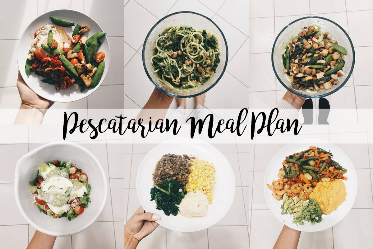 core de force pescatarian meal plan