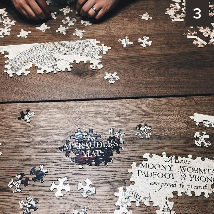 best nine memories: harry potter puzzle