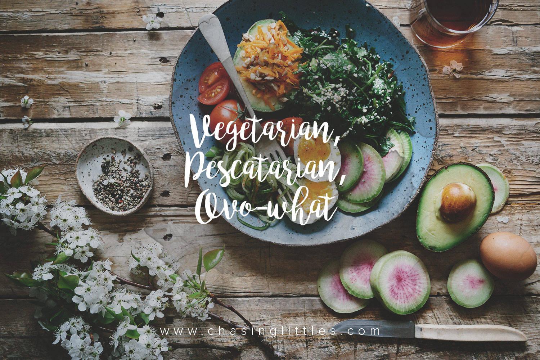 vegetarian, pescatarian